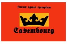 Die Staatsflagge Cavembourgs
