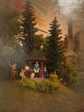 """""""Die Krönung Heinrichs I."""" 1848 von Jean-Baptiste Freses (1800 - 1867); Öl auf Leinwand, Königliche Staatsgalerie Cavembourg"""