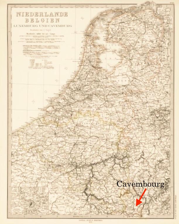 """Blatt 33 aus """"Adolf Stiehler's Hand Atlas Über Alle Theile Der Erde Und über das Weltgebäude"""" von 1879"""