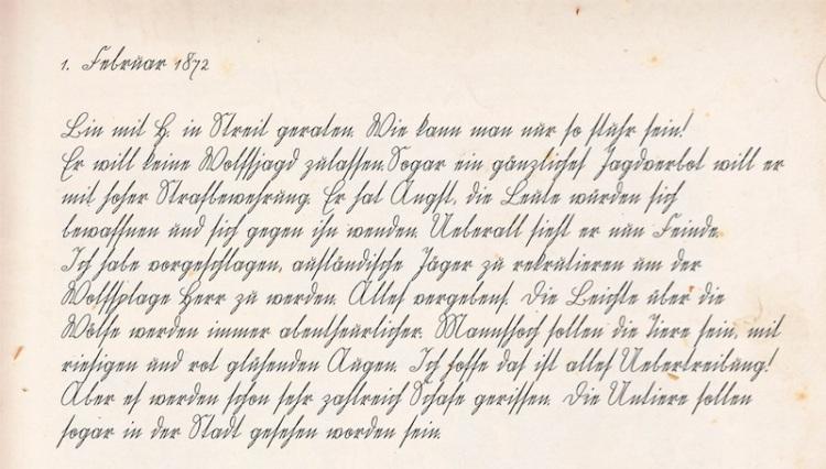 Tagebuchseite 3