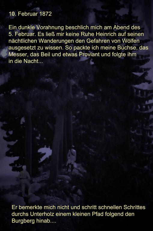 Der Jagdbericht aus dem Tagebuch von Karl Napf: 1